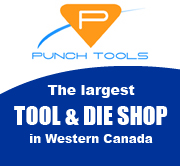 Punch Tools the largest tool and die shop in Western Canada