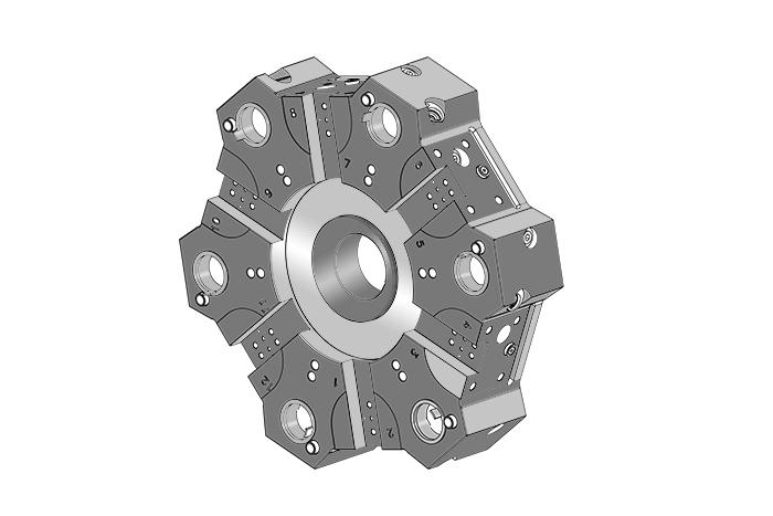 Punch Tools - HAAS ST10Y   CNC   CNC Lathe   CNC Machine